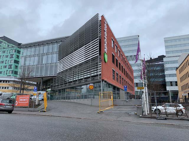 Apotekets huvudkontor med installationsgolv från Flexible Office
