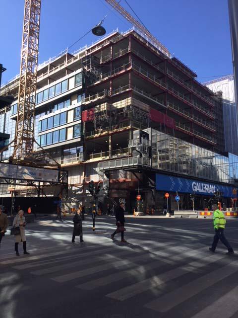 Urban Escape T30 projektet för Skanska om 24000kvm Flexible Office